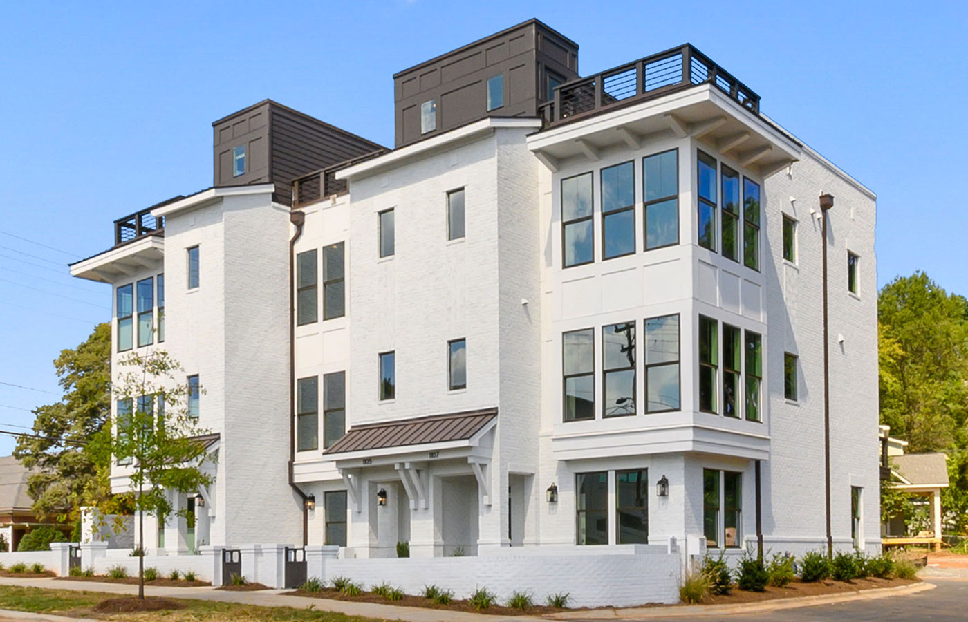 Myers Park Terraces Luxury Townhomes In Charlotte Nc